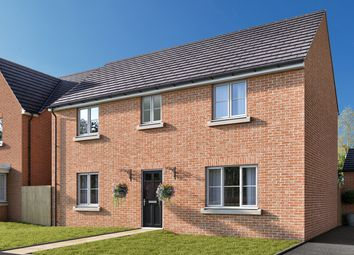 """Thumbnail 4 bed detached house for sale in """"The Kempthorne"""" at Amos Drive, Pocklington, York"""