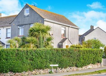 Thumbnail 3 bed end terrace house for sale in Porth, Newquay, Cornwall
