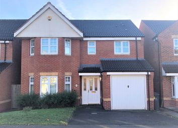 Thumbnail 4 bed detached house to rent in Yale Road, Willenhall