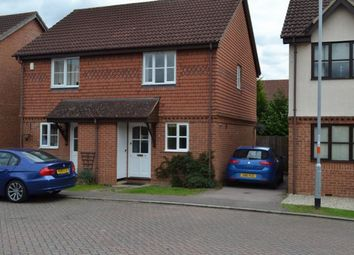 Thumbnail 2 bed semi-detached house to rent in Aster Close, Abington Vale, Northampton