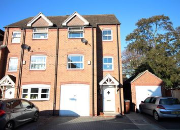 Thumbnail 4 bed town house for sale in Rowans Crescent, Nottingham