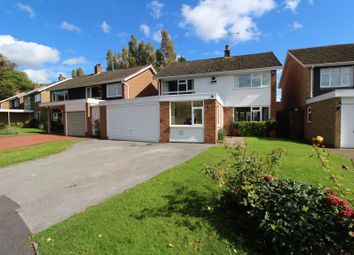 Thumbnail 4 bed detached house for sale in Lightwood Close, Knowle, Solihull