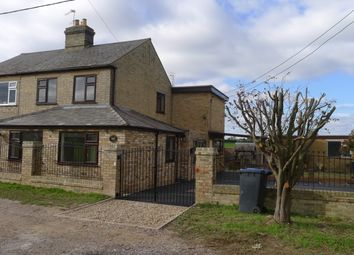 Thumbnail 4 bed semi-detached house to rent in East Fen Common, Soham, Ely