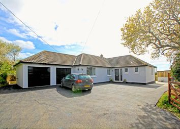 Thumbnail 4 bedroom detached bungalow for sale in Ruan High Lanes, Truro
