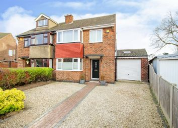 3 bed semi-detached house for sale in Haddon Crescent, Chilwell, Nottingham NG9