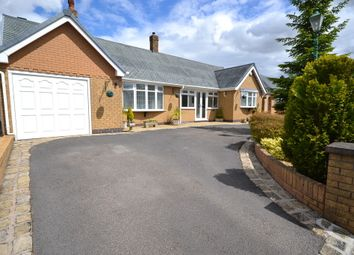 Thumbnail 2 bed detached bungalow for sale in Repton Drive, Newcastle-Under-Lyme