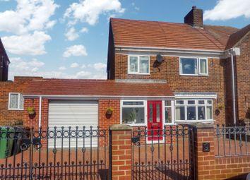 Thumbnail 3 bed semi-detached house for sale in Blyton Avenue, Sunderland