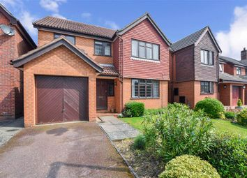 Thumbnail 4 bedroom detached house for sale in Priestley Drive, Larkfield, Aylesford, Kent