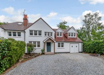 Thumbnail 4 bed semi-detached house for sale in Rectory Lane, Windlesham, Surrey