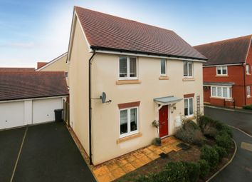 Thumbnail 3 bed detached house for sale in Mayfield Way, Cranbrook, Exeter