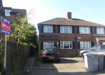 Thumbnail 1 bed flat to rent in Hill Court, Harrow Road, Wembley