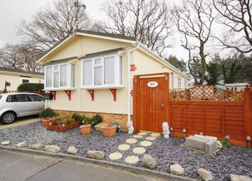 Thumbnail 2 bed mobile/park home for sale in The Avenue, Oak Tree Park, St. Leonards, Ringwood