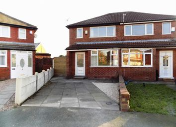 Thumbnail 2 bed semi-detached house to rent in Franklyn Road, Abbey Hey, Manchester