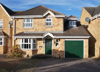 Thumbnail 4 bed detached house for sale in Lincroft, Cranfield, Bedfordshire
