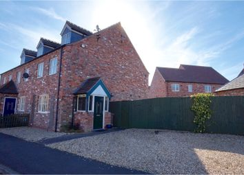 Thumbnail 3 bed end terrace house for sale in Cambrian Way, North Hykeham