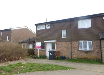 Thumbnail 2 bed terraced house for sale in Flaxwell Court, Standens Barn, Northampton