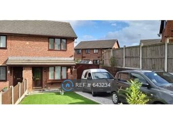 Thumbnail 2 bed semi-detached house to rent in Pembry Rise, Connah's Quay, Deeside
