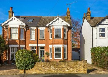 Thumbnail 3 bedroom semi-detached house for sale in Crutchfield Lane, Walton-On-Thames, Surrey