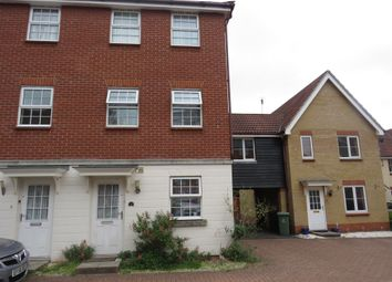 Thumbnail 4 bed end terrace house for sale in Cuthbert Close, Thetford