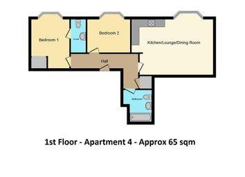 Thumbnail 2 bed flat for sale in West Port, Cupar
