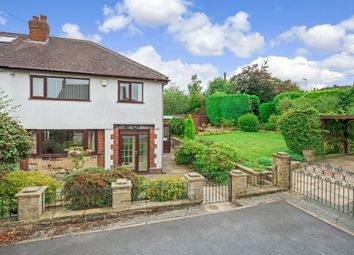 Thumbnail 3 bed semi-detached house for sale in Strathmore Road, Ben Rhydding, Ilkley
