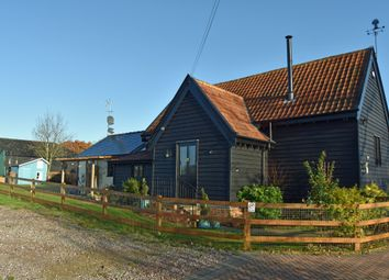 Thumbnail 4 bed barn conversion for sale in Cats Hill, Baylham, Ipswich