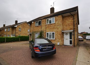 Thumbnail 3 bed semi-detached house for sale in Furze Ride, Dogsthorpe, Peterborough
