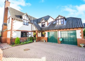 Thumbnail 4 bed detached house for sale in West End, Foxham, Chippenham