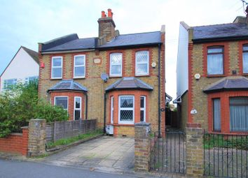 Thumbnail 3 bed semi-detached house for sale in Clayton Road, Chessington