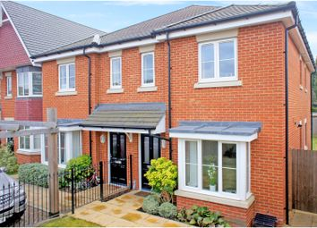 Thumbnail 3 bed semi-detached house for sale in Burgess Close, Camberley
