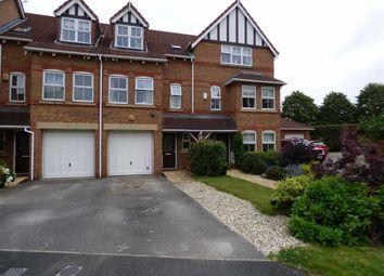 Thumbnail 3 bed town house for sale in Wheelock Close, Northwich, Cheshire