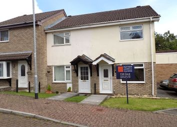 Thumbnail 3 bed end terrace house for sale in Fairoak Chase, Brackla, Bridgend.