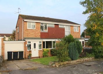 Thumbnail 3 bed semi-detached house to rent in Bevery Close, Oakley, Bedford