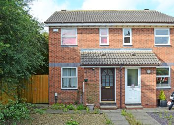 Thumbnail 2 bedroom semi-detached house for sale in Hayforth Close, York