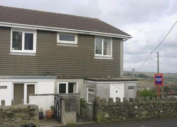 Thumbnail 3 bed semi-detached house for sale in St. Cleer, Liskeard, Cornwall