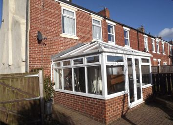 Thumbnail 4 bedroom end terrace house to rent in South Street, Sherburn Village, Co. Durham