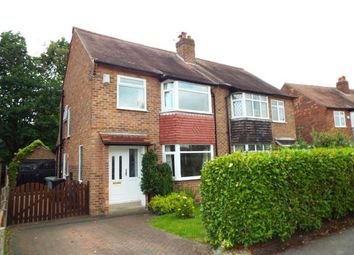 Thumbnail 3 bed semi-detached house for sale in Deanway, Wilmslow, Cheshire