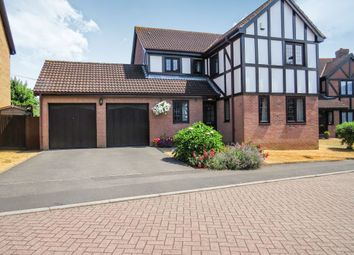 Thumbnail 4 bed detached house for sale in Tyler Close, Hanham, Bristol