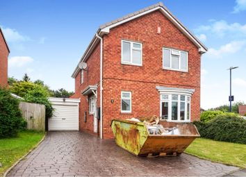 Thumbnail 4 bed detached house for sale in Olliver Close, Halesowen