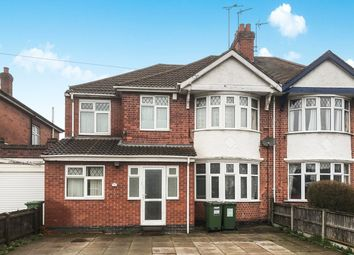 Thumbnail 6 bed semi-detached house for sale in Narborough Road South, Leicester