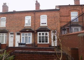Thumbnail 2 bed terraced house for sale in Stretton Grove. Off Sydenham Road, Sparkbrook, Birmingham