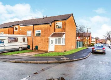 Thumbnail 2 bedroom end terrace house for sale in Boardman Close, Reddish, Stockport, Cheshire