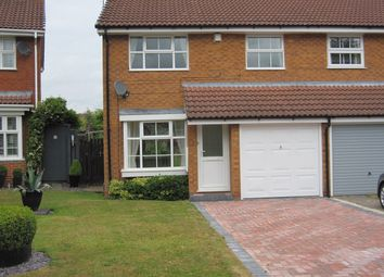 Thumbnail 3 bed semi-detached house to rent in Woodbury Grove, Hillfields, Solihull