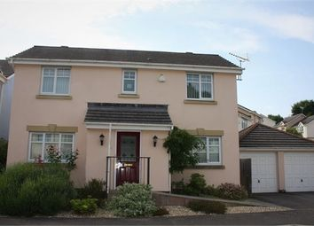 Thumbnail 4 bed detached house for sale in Chestnut Crescent, Chudleigh, Newton Abbot, Devon.