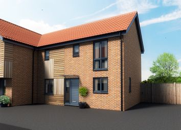 Thumbnail 2 bedroom semi-detached house for sale in Maple Park, Long Stratton, Norwich