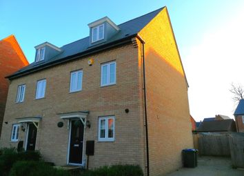 Thumbnail 4 bed semi-detached house for sale in Pillow Way, Buckingham