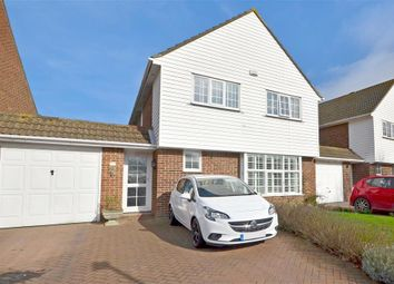 Thumbnail 4 bed link-detached house for sale in William Avenue, Folkestone, Kent