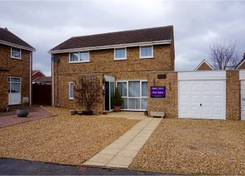 Thumbnail 4 bedroom detached house for sale in Pheasant Way, Peterborough