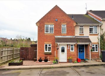 Thumbnail 3 bed terraced house for sale in Willow Close, Measham, Swadlincote