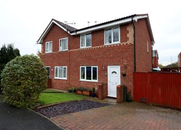 Thumbnail 3 bed semi-detached house for sale in Glenview Road, Tyldesley, Manchester